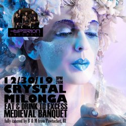 Crystal Milonga & Scheherezade Milonga - 4 tickets