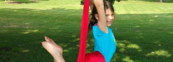 Kids Aerial yoga program 7-11 years