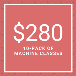 10 Pack of Machine Classes (Reformer/Spring Wall)