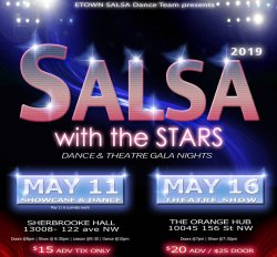 2019 Salsa with the Stars  - BOTH NIGHTS - Dance & Theatre