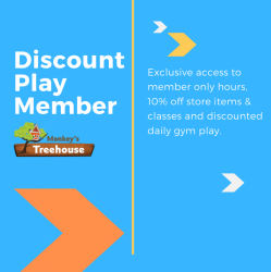 Discount Play Member - Single Child