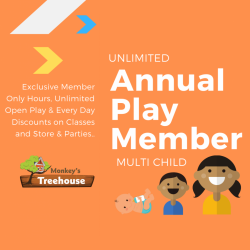 Annual Play Member - Multi Child