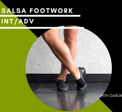 Online Class - Salsa Footwork (Int / Adv) CLASS 1