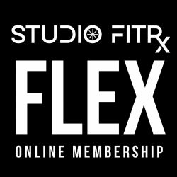 STUDIO FITRx FLEX ONLINE MEMBERSHIP