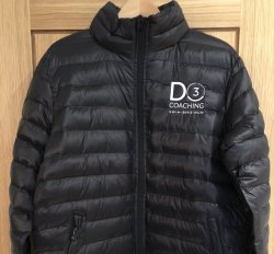 Padded jacket (Black)