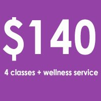 4X MONTHLY + wellness service