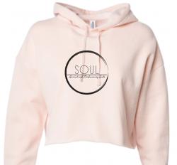 Pink Cropped Sweatshirt (SAS5P)