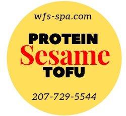 PROTEIN Sesame Tofu