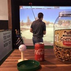 Round of Simulator Golf