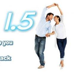 Bachata 1.5 (SINGLE) 6 hrs