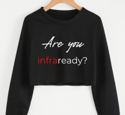 Are you INFRAready? Cropped Pullover