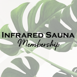 Infrared Sauna Monthly Membership