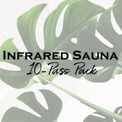 Infrared Sauna 10-Pass Pack