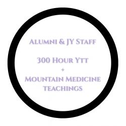 300 Hr + Mountain Medicine Teachings Alumni YTT & Yoga Jaya Staff