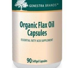 Flax Oil Capsules (Organic) 90 caps
