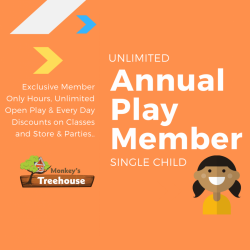Annual Play Member - Single Child