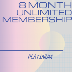8 Month Unlimited PLATINUM Membership