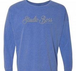 Flo Blue - Studio BOSS Long Sleeve Drop Shoulder - Ladies