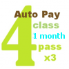 4 Class AUTO PAY