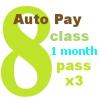 8 Class AUTO PAY