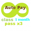 Unlimited Class AUTO PAY