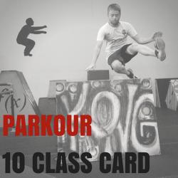 10 Class Card (Parkour/Ninja/Fitness)