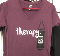 "Women's ""Therapy"" V-Neck"
