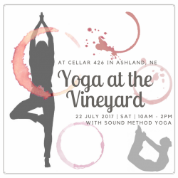 Yoga at the Vineyard - for a guest