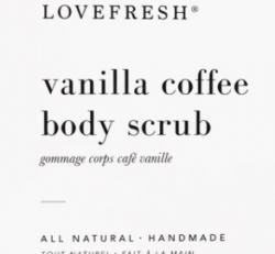 Love Fresh -  Coffee Vanilla Scrub