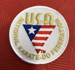USA Karate Patch