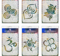 ARTual Sacred Symbols Stencil (single and set)