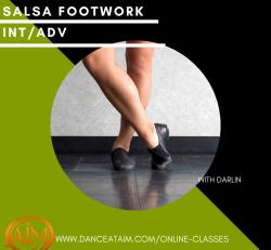 Online Class - Salsa Footwork (Int / Adv) CLASS 2