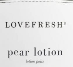 Love Fresh - Pear Lotion