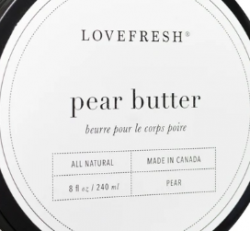 Love Fresh -  Butter (Pear)