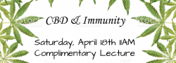 CBD & Immunity Complimentary Lecture