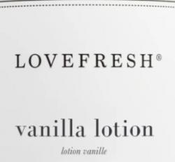 Love Fresh - Vanilla Lotion