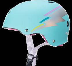 T8 The Certified Helmet - Teal Hologram