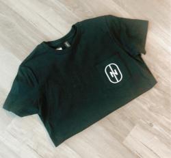 Men's T-shirt / Women's Crop Tee (Noir)
