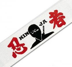 Ninja Headband (assorted designs)
