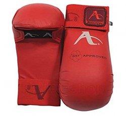 WKF Karate Gloves - Red (all sizes)