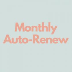 Monthly Auto-Renew Membership