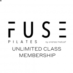 FUSE PILATES by Andrea Metcalf Unlimited Class Membership