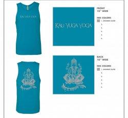 Blue Kali Yuga Tank Top
