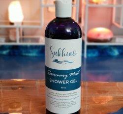 BOTTLE: Rosemary Mint Shower Gel