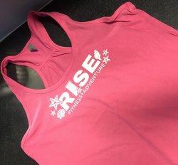 Ladies Seashell RISE Loose Fit Tank -Pink