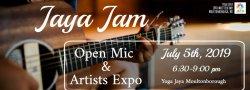 Art & Soul Concert Series: Jaya Jam Open Mic & Artist Expo!