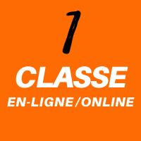 1 heure cours en ligne - 1 hour online classes