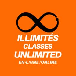 1 mois illimité - 1 Month Unlimited Online Zoom Classes