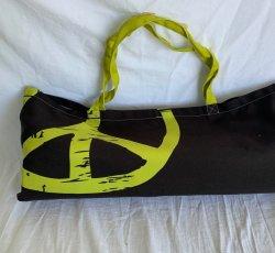 Peace Shanti Tote Bag