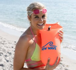 New Wave Swim Buoy Orange